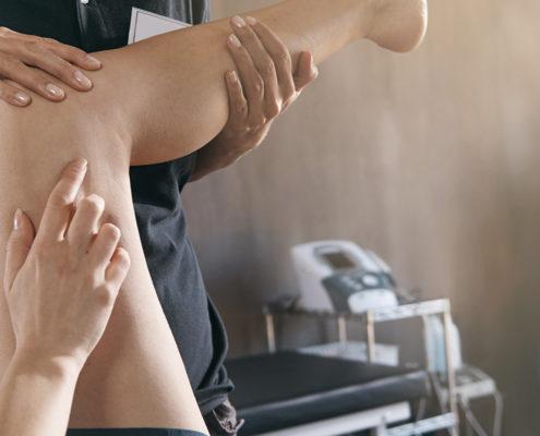 Behandling av kne hos kiropraktor