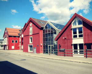 Fasade Gyldenløve Brygge - Kiropraktikk